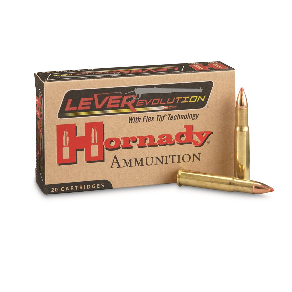 Hornady, .32 Winchester Special, FTX, 165 Grain, 20 Rounds