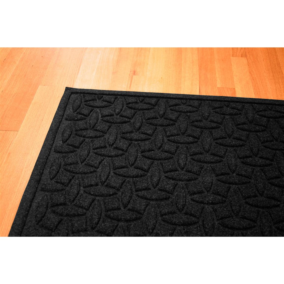 Water Trap Ellipse Commercial Grade Mat, Charcoal