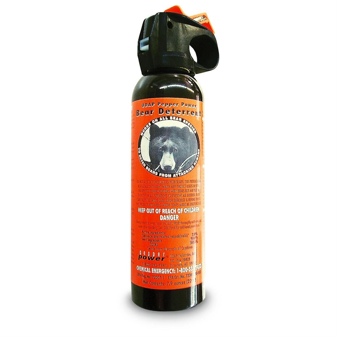 UDAP Pepper Power Bear Deterrent