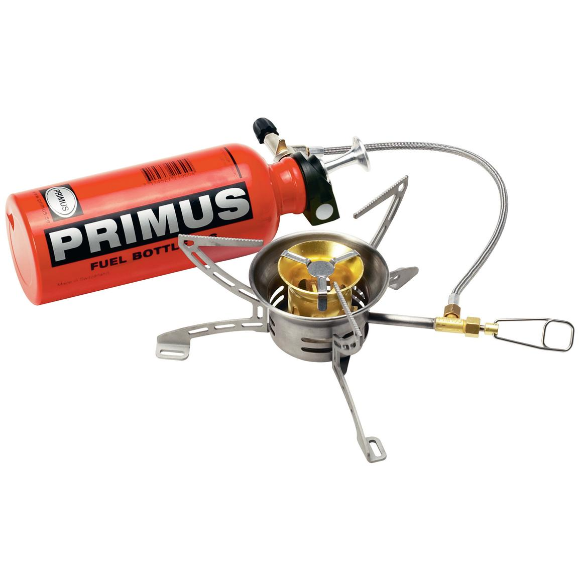 Primus® OmniFuel™ Stove w/ 0.6 - liter Fuel Bottle - 137612, Stoves at Sportsman's Guide