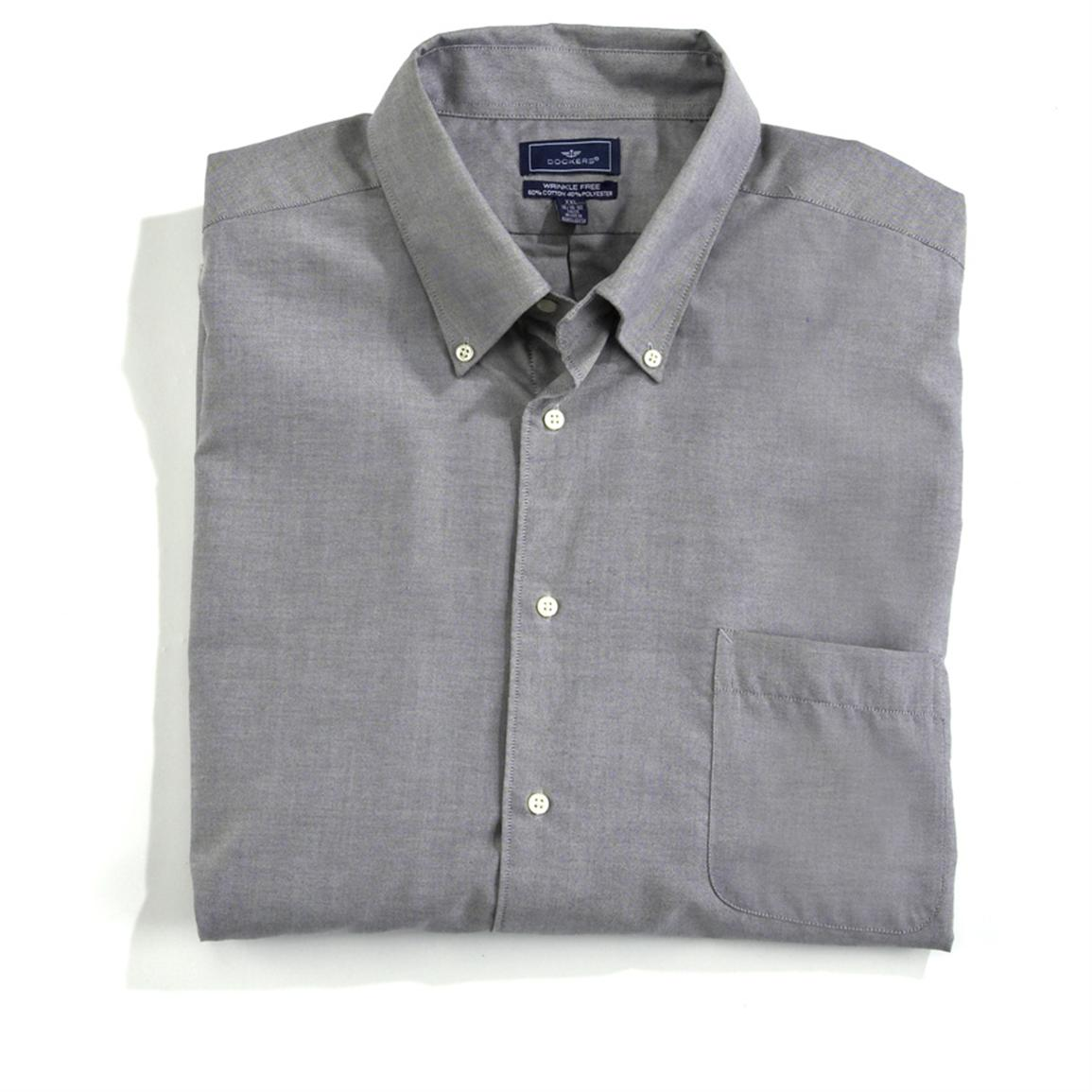 Dockers wrinkle free long sleeve button down shirt Best wrinkle free dress shirts