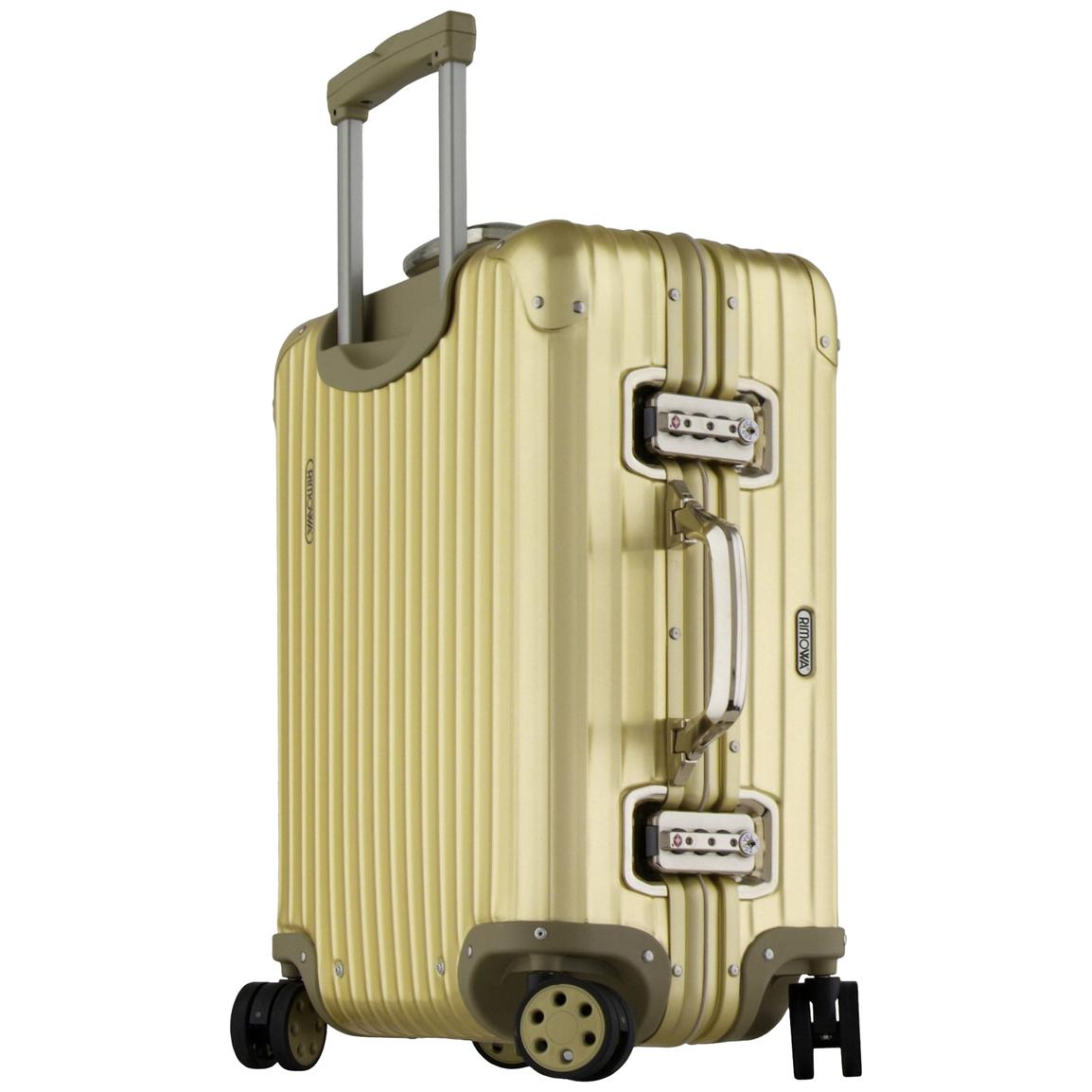 22 rimowa topas gold cabin trolley 138096 luggage at. Black Bedroom Furniture Sets. Home Design Ideas