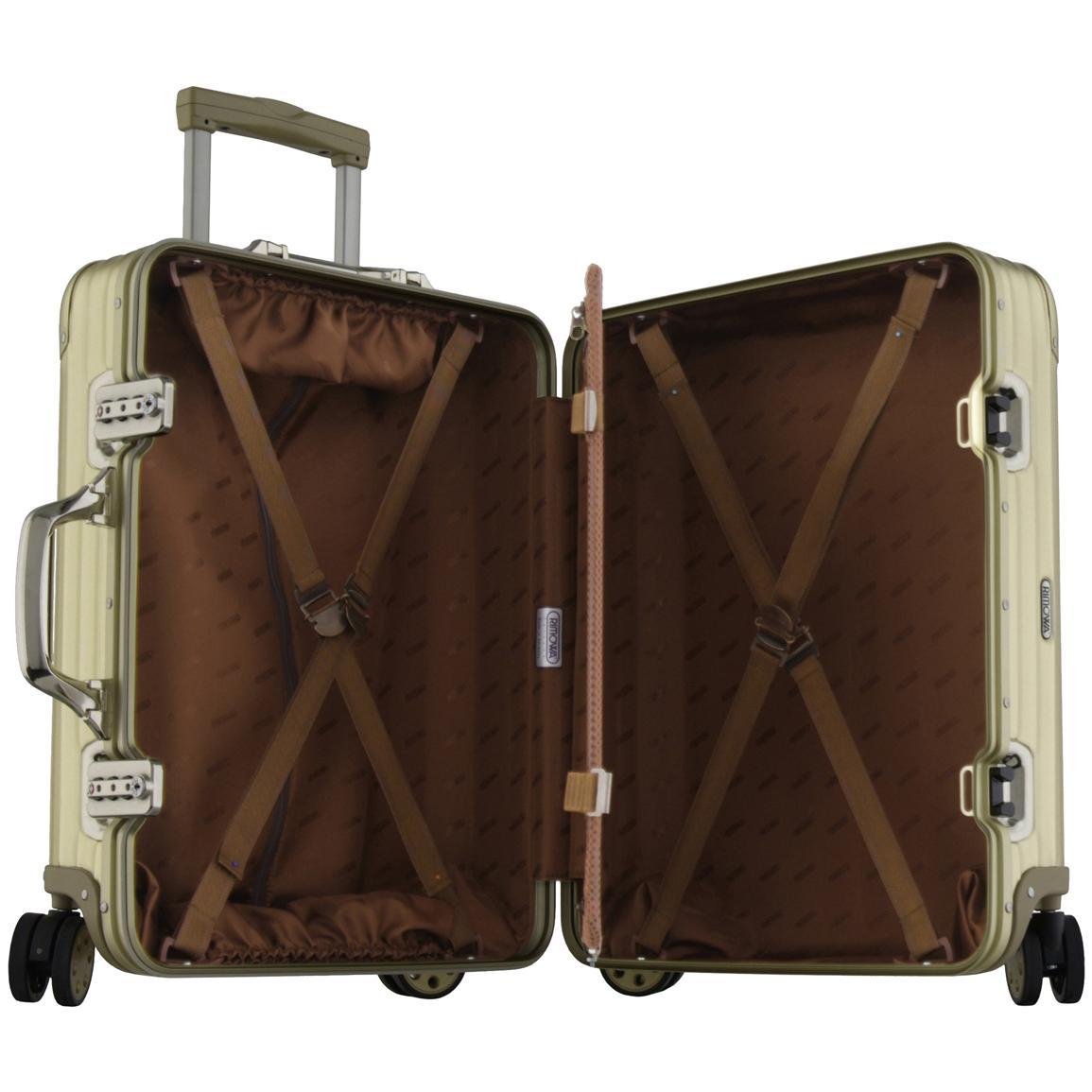 22 rimowa topas gold cabin trolley 138096 at. Black Bedroom Furniture Sets. Home Design Ideas