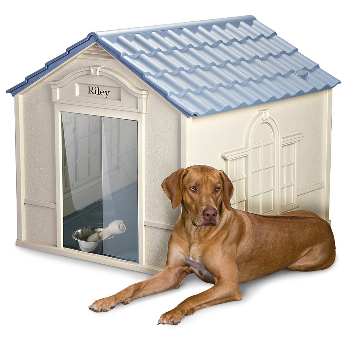 suncast deluxe large dog house