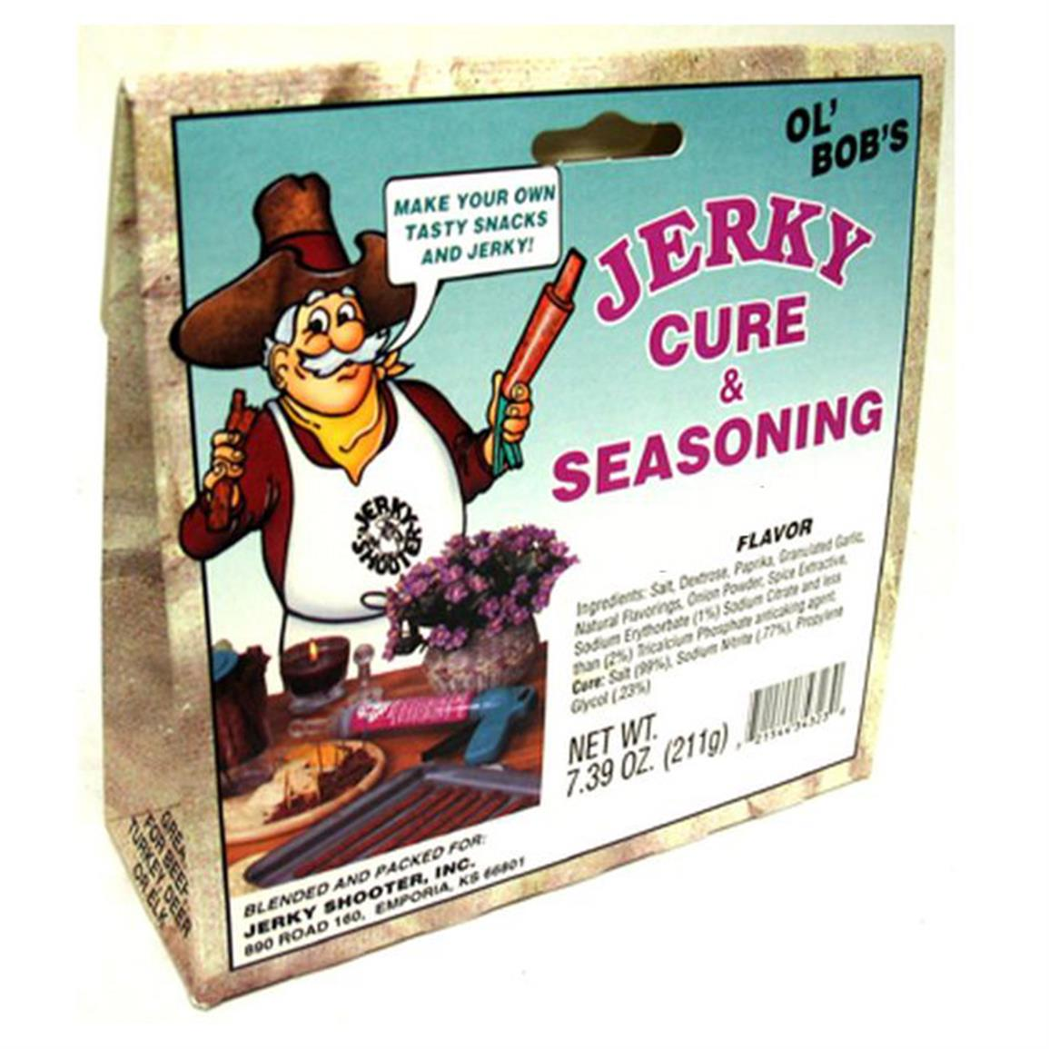 BPE Inc Ol' Bob's Hickory Jerky Seasoning
