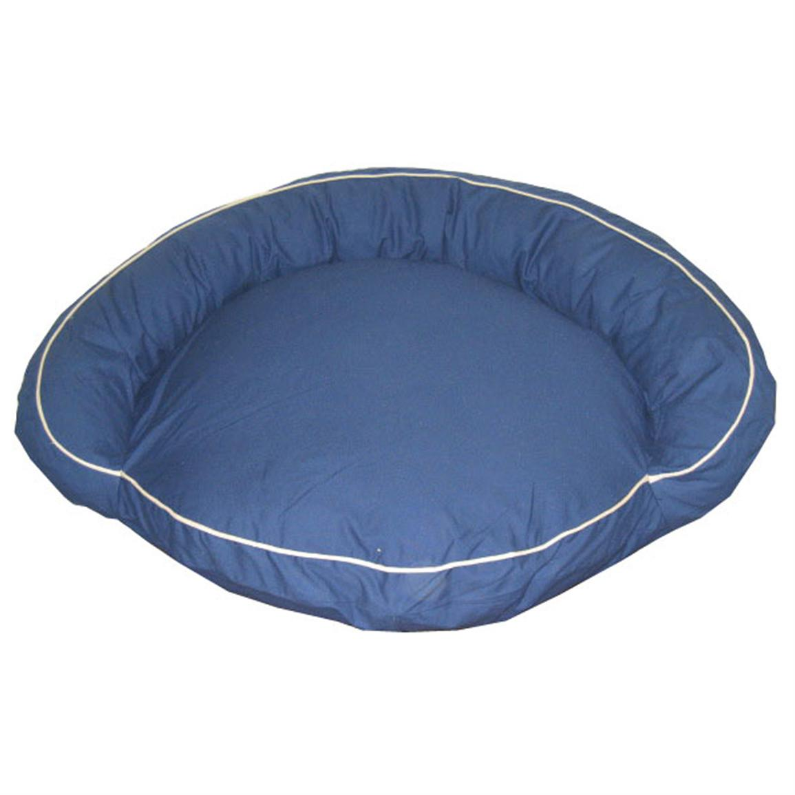 Carolina Pet Co.® Classic Twill Bolster Bed, Blue