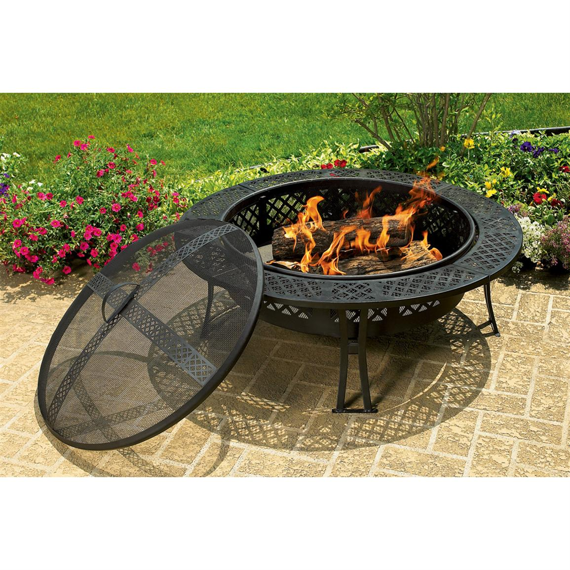 CobraCo Diamond Mesh Fire Pit