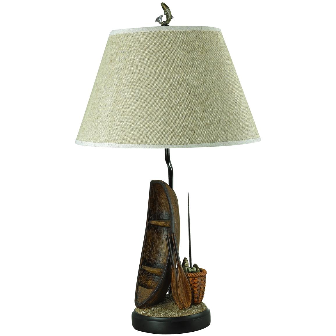 Cal lighting rowing boat table lamp 139995 lighting at for 12v table lamps for boats