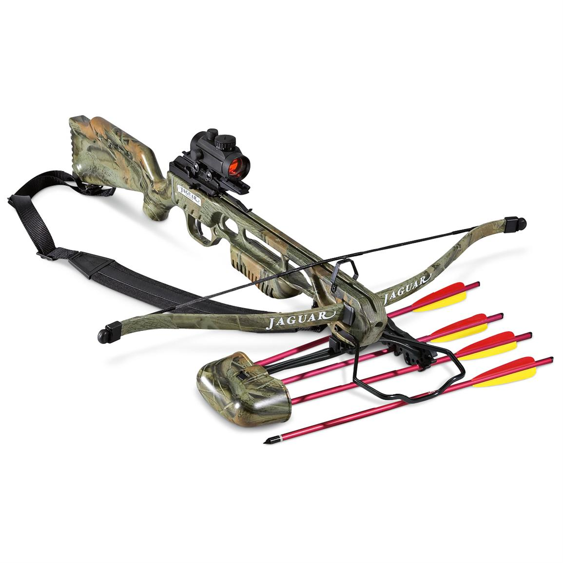 Jaguar 175-lb  Crossbow Package - 157196, Crossbows at