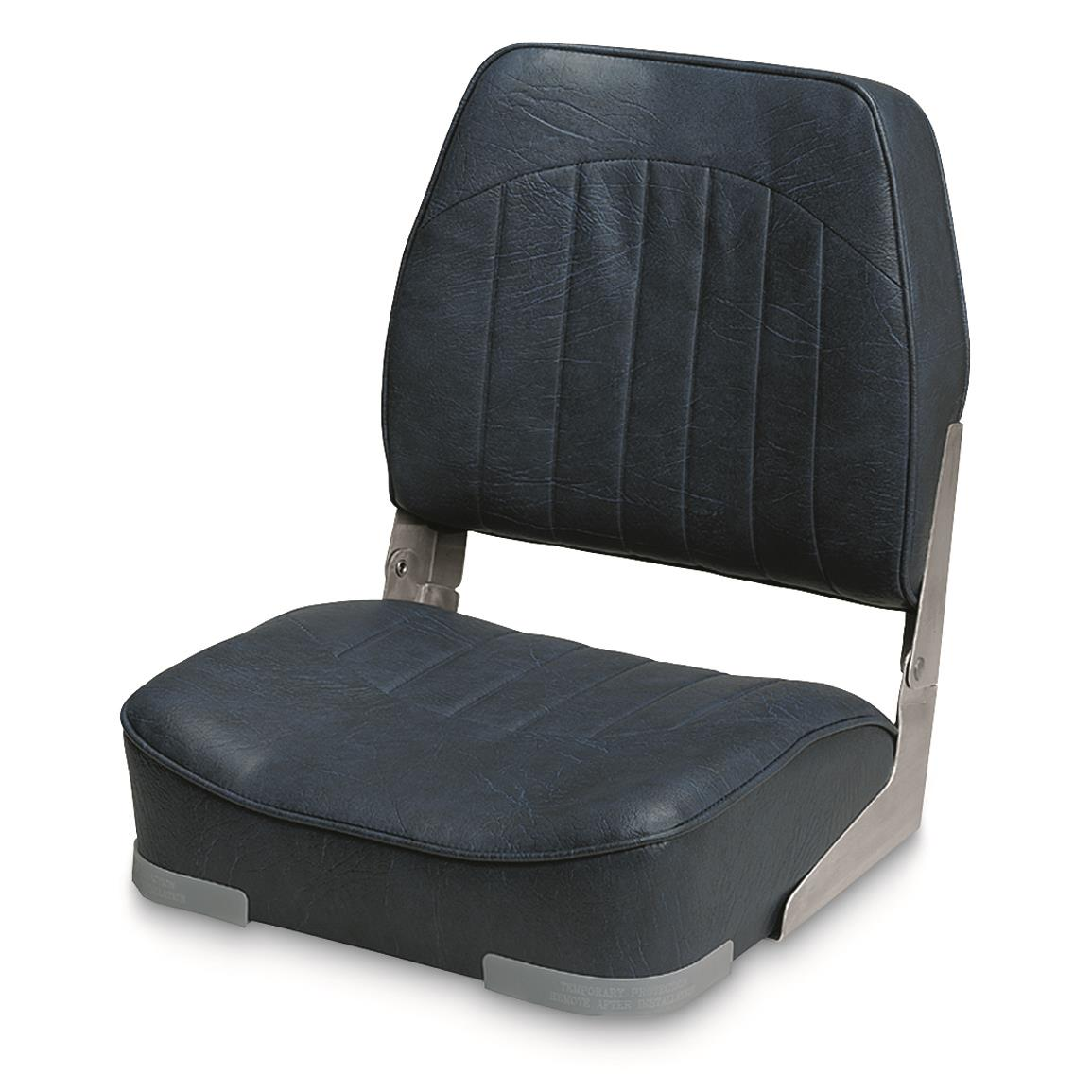 Wise Low - back Economy Fishing Boat Seat, Navy