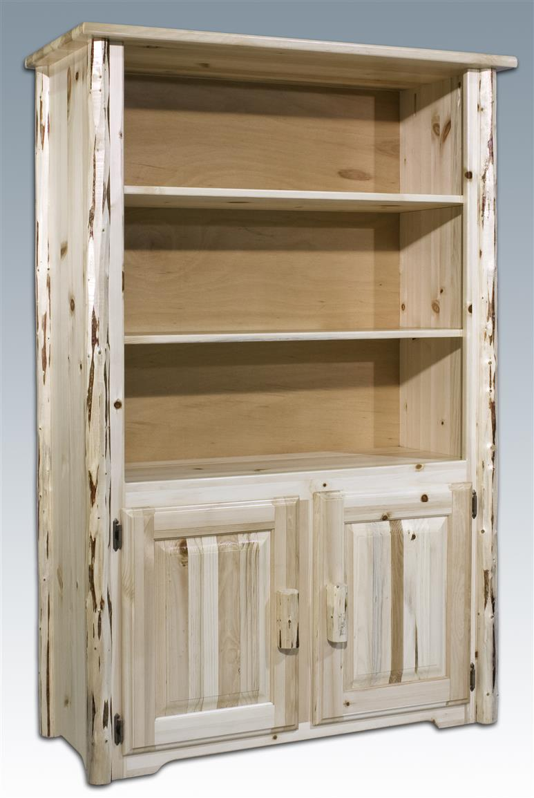 Montana Woodworks Bookcase, Unfinished