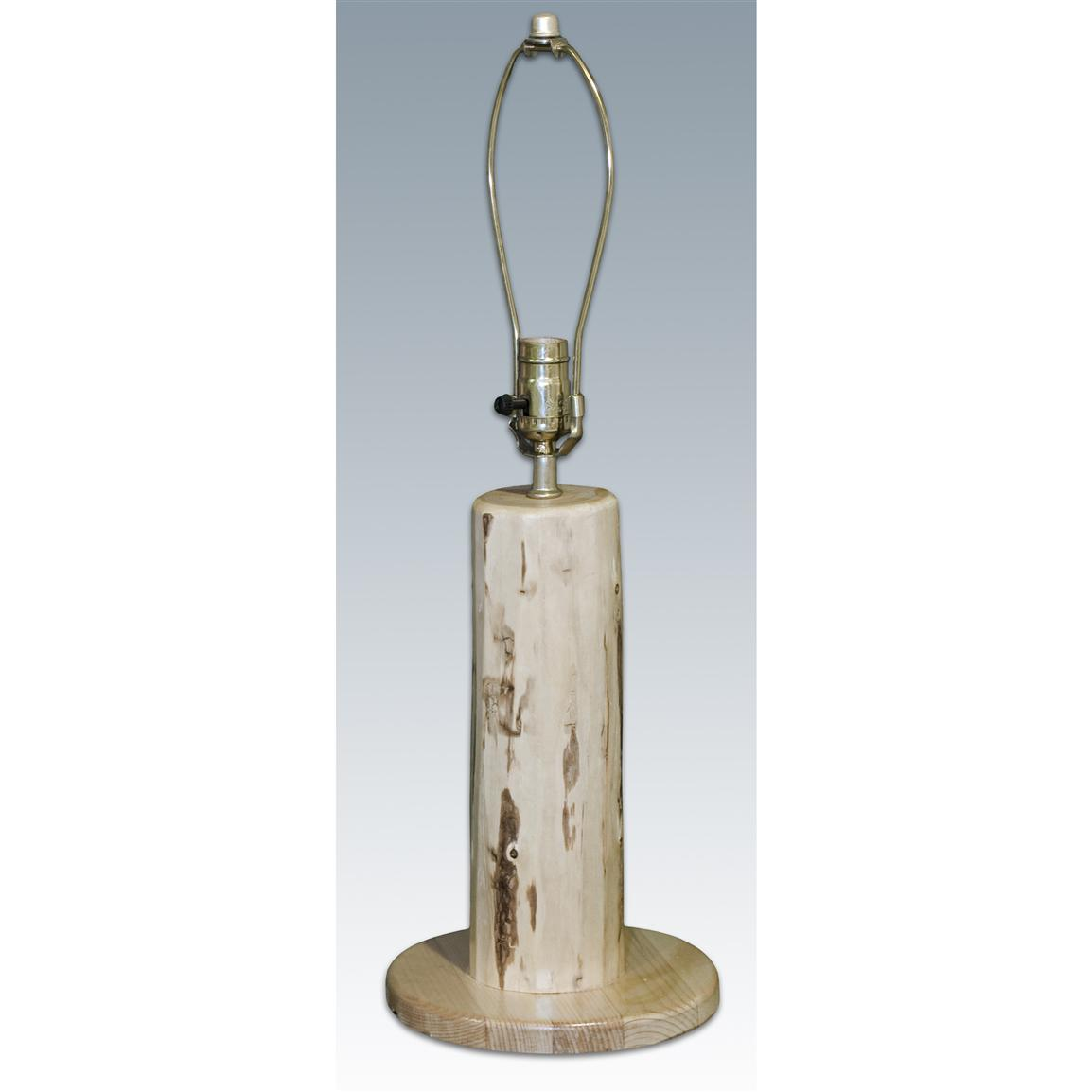 Montana Woodworks Log Table Lamp Base
