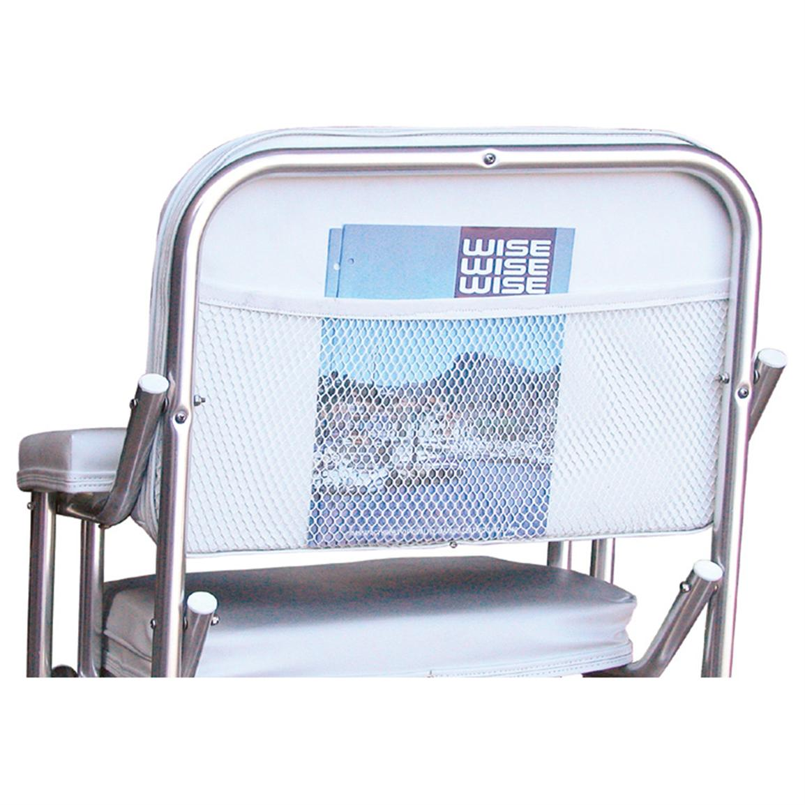 Wise Offshore Folding Deck Chair, Back