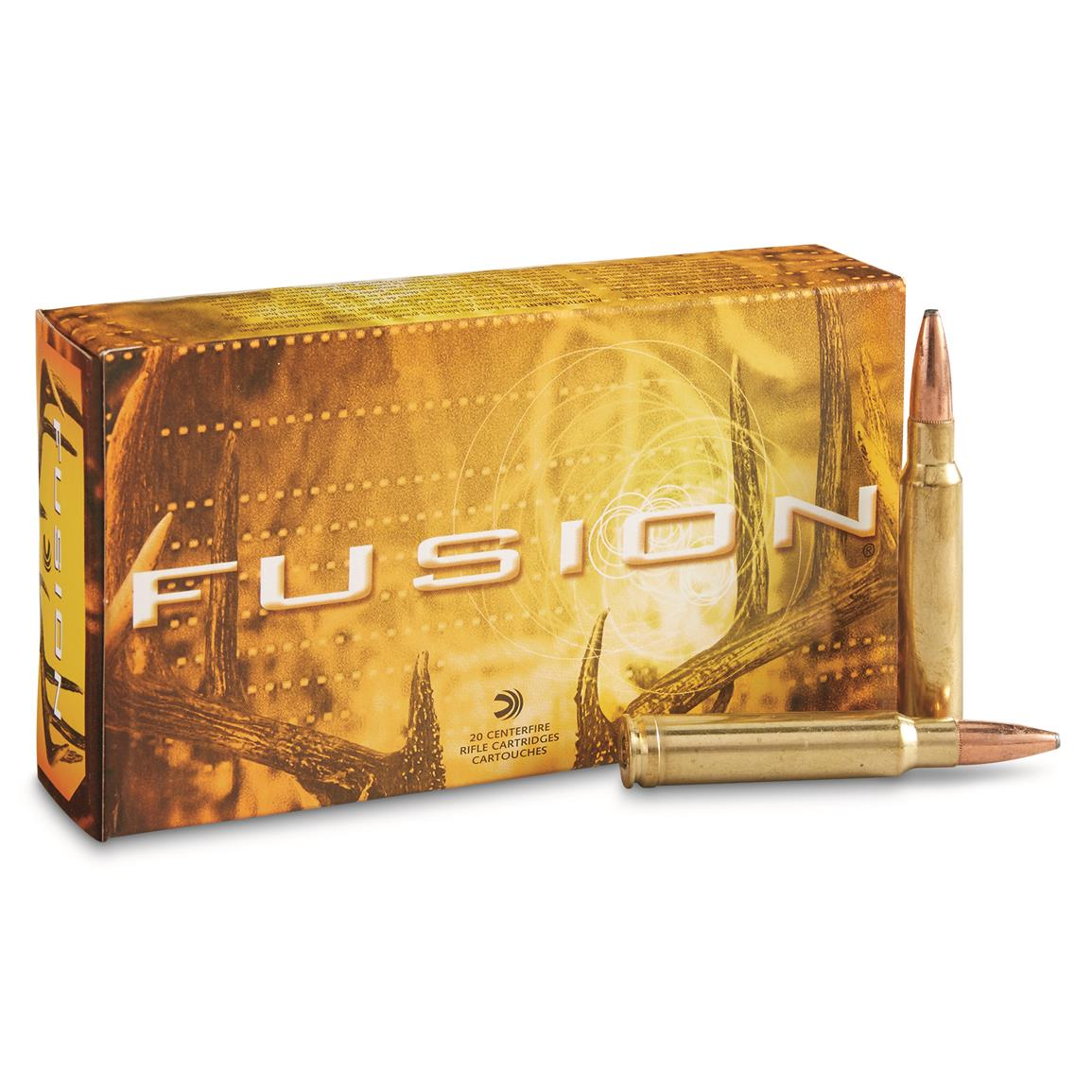 Federal Fusion, .338 Winchester Magnum, SP, 225 Grain, 20 Rounds