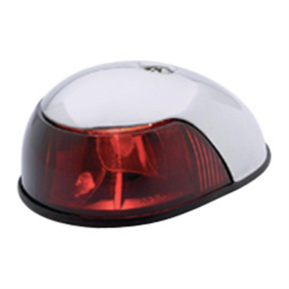 Attwood Stainless Steel Navigation Light, Red