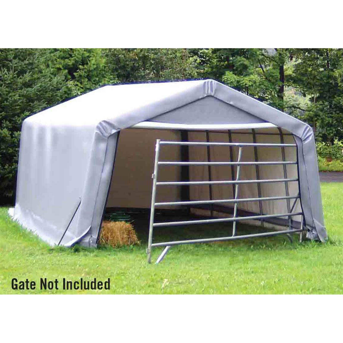 Shelter Logic 12x20x8' Peak Style Storage Shelter