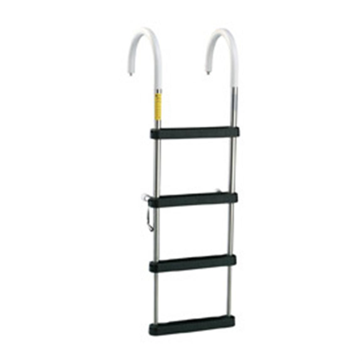 Garelick Telescoping Stainless Steel Pontoon Ladder
