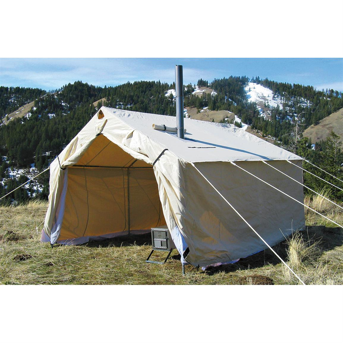 Magnum 14x16x5' Canvas Wall Tent