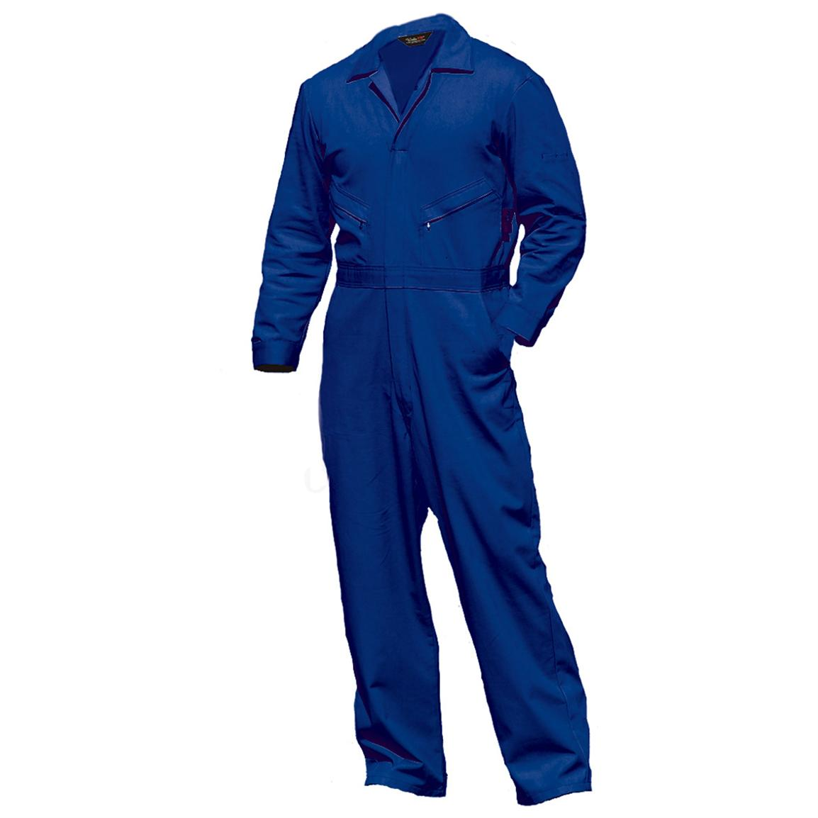 Walls Flame Resistant Industrial Coveralls, Royal