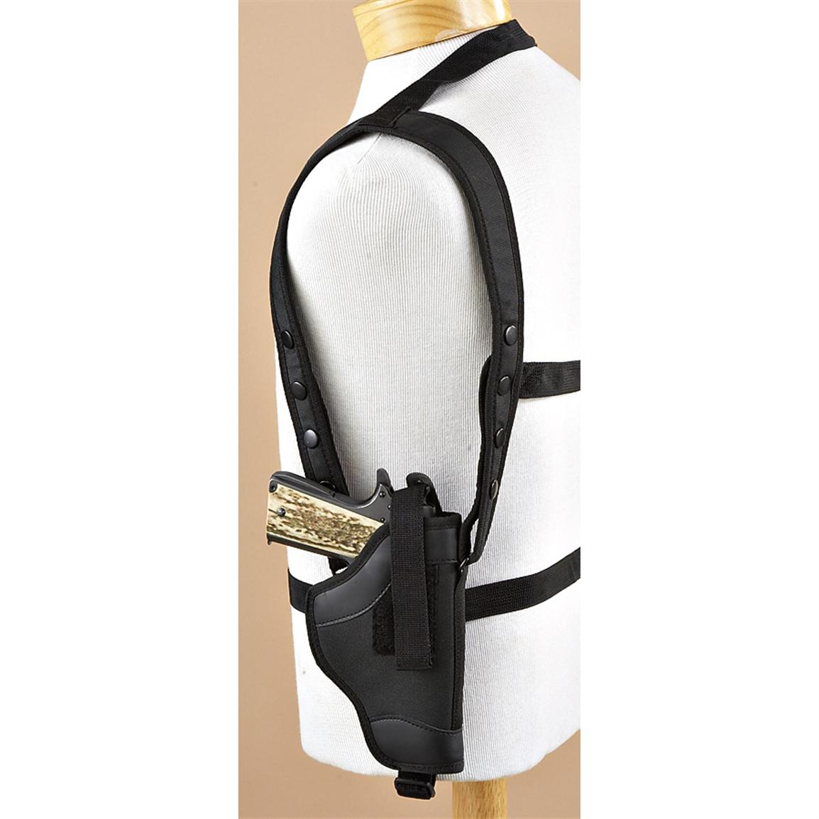 Large-frame Pistol Shoulder Holster, Black