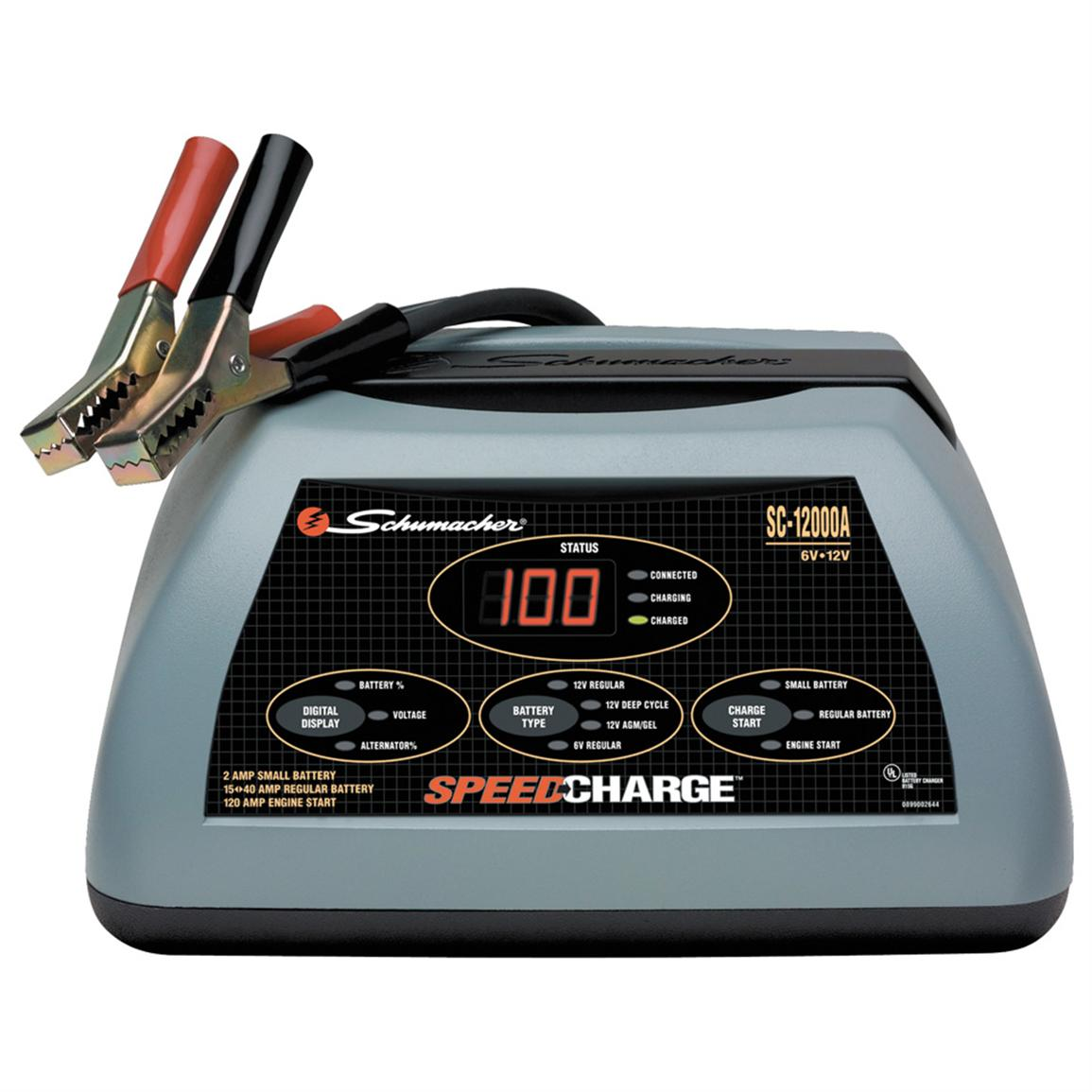 Schumacher® SpeedCharge™ Battery Charger, 15 to 40-amp