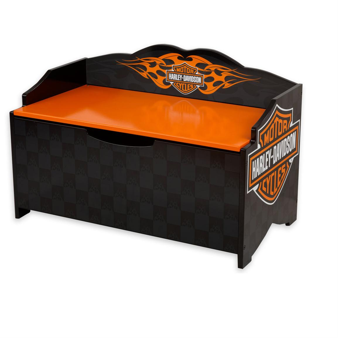 Kidkraft Harley Davidson 174 Flames Toy Box 146100 Kid S