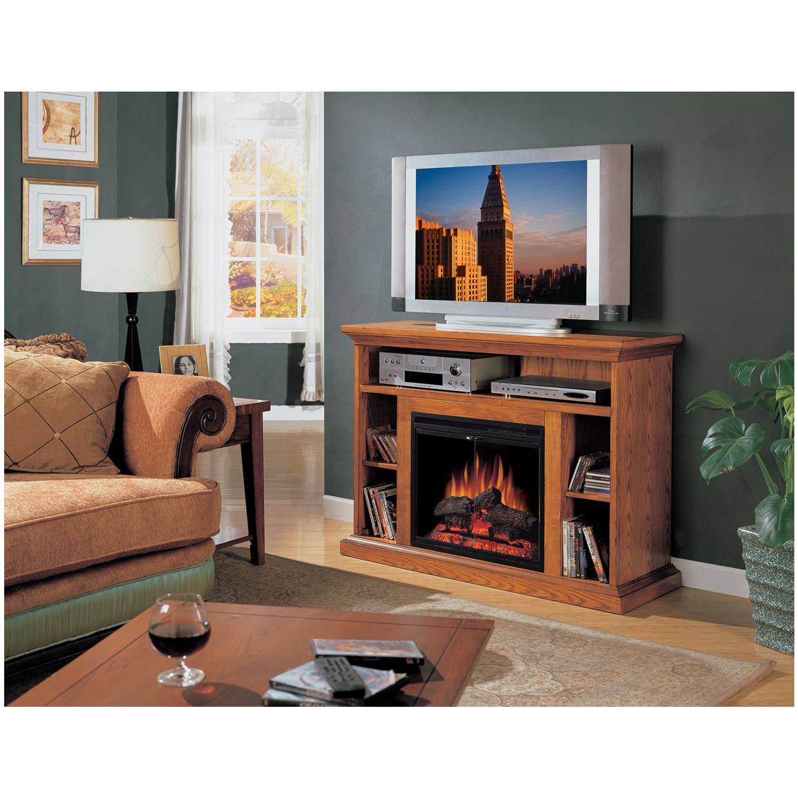 Classic Flame™ Beverly Electric Fireplace and Entertainment Center