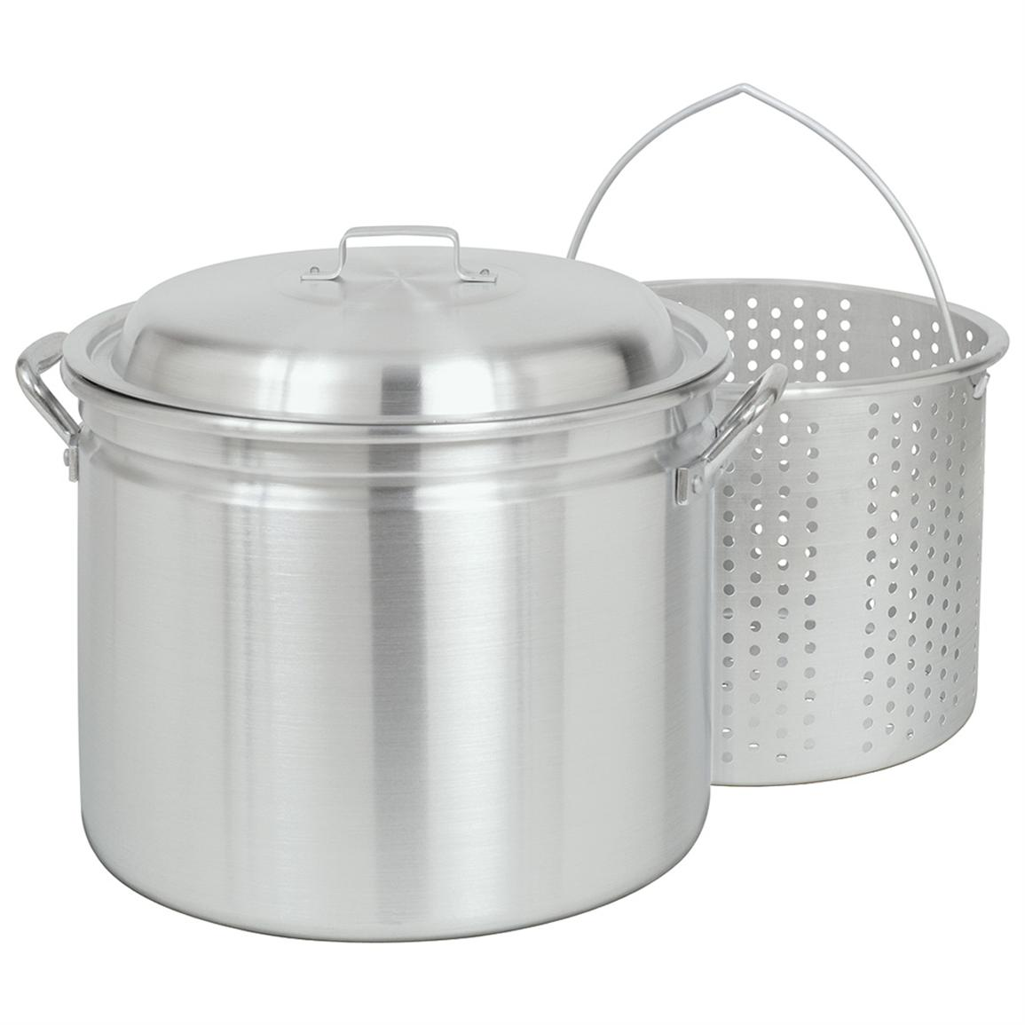 Bayou Classic 34-qt. Fryer / Steamer with Lid and Basket