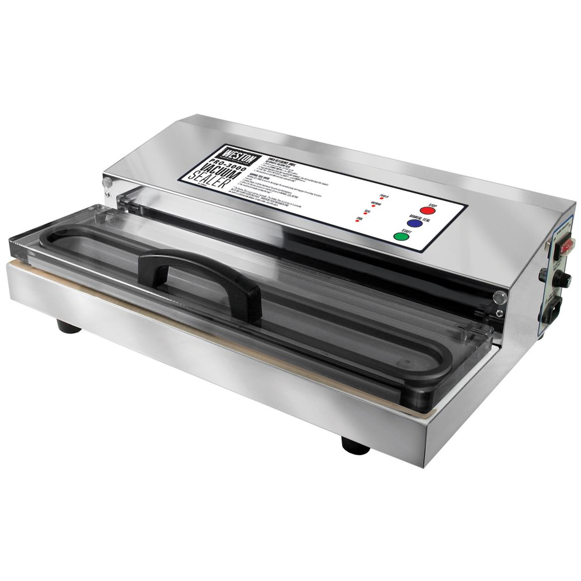 Weston® Pro-2300 Stainless Steel Vacuum Sealer