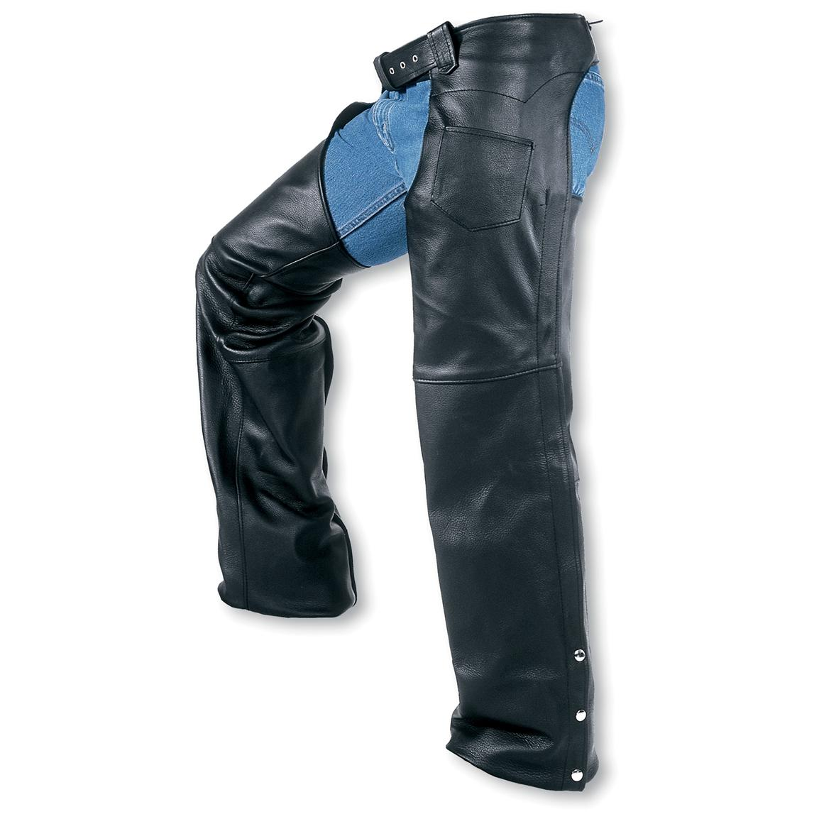 Men's Interstate Leather Boot Cut Chaps