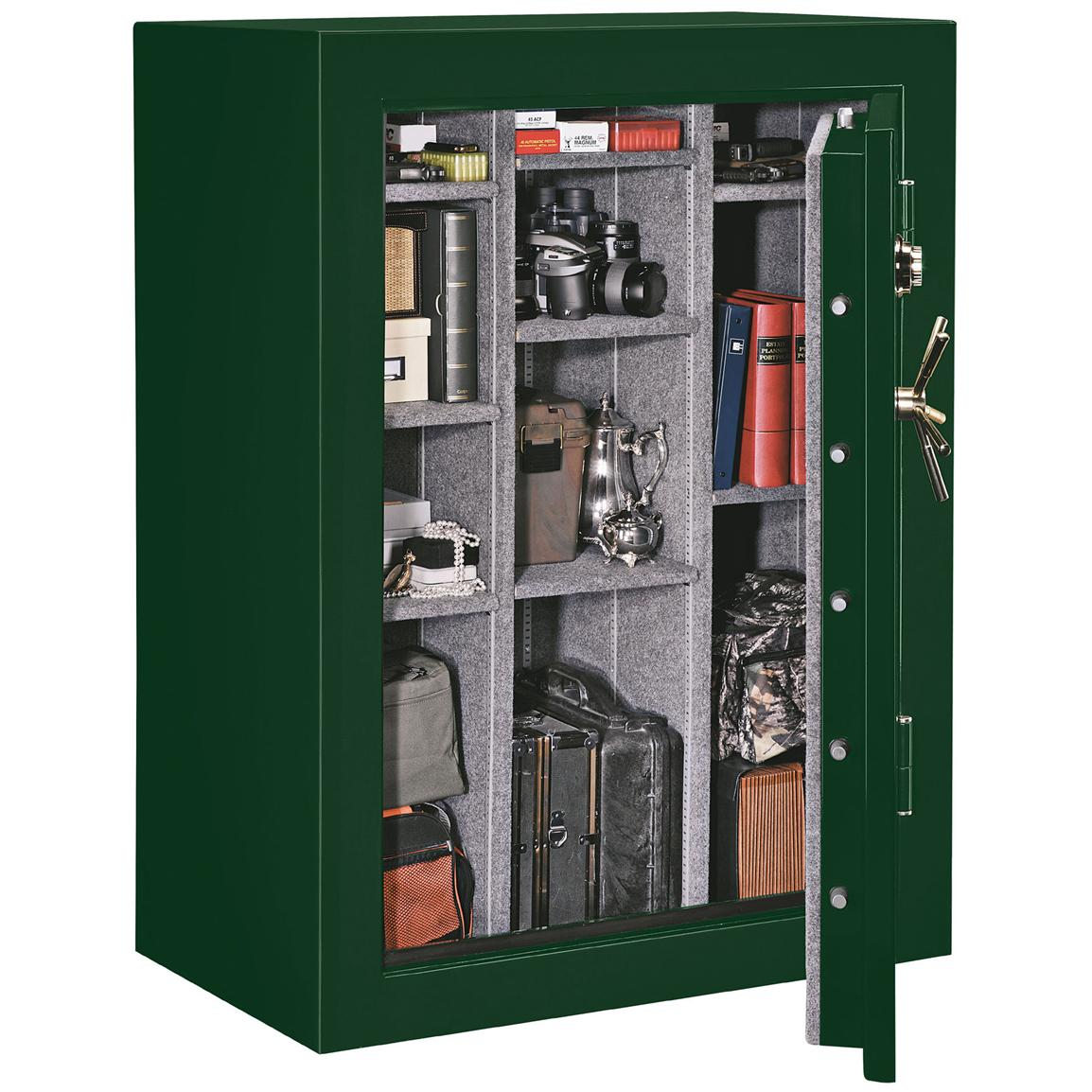 Stack On 174 45 Gun Fire And Water Resistant Safe With