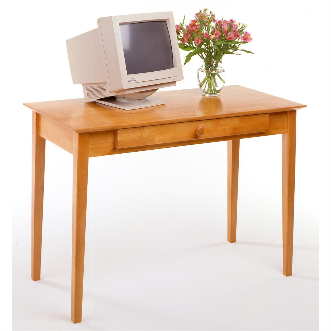 "Winsome 42""-wide Honey Finished Home Office Computer Desk"
