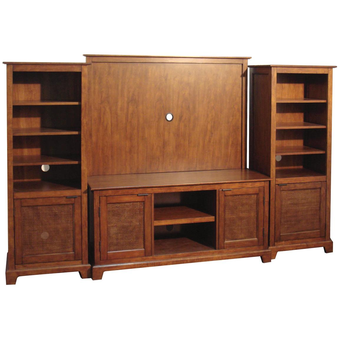 Home Styles Jamaican Bay 4-Pc. Entertainment Console Set