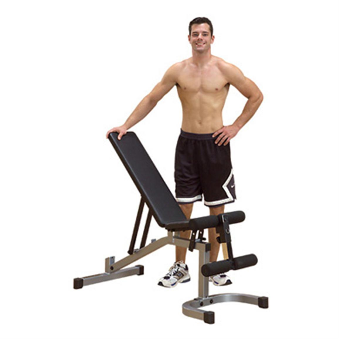 Body Solid Powerline Incline Decline Bench
