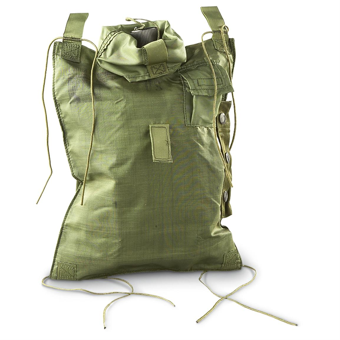 New U.S. Military 5-qt. Collapsible Canteen, Olive Drab