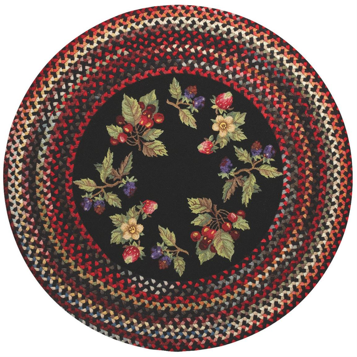 Capel Somewhere In Time Round Berry Patch Rug