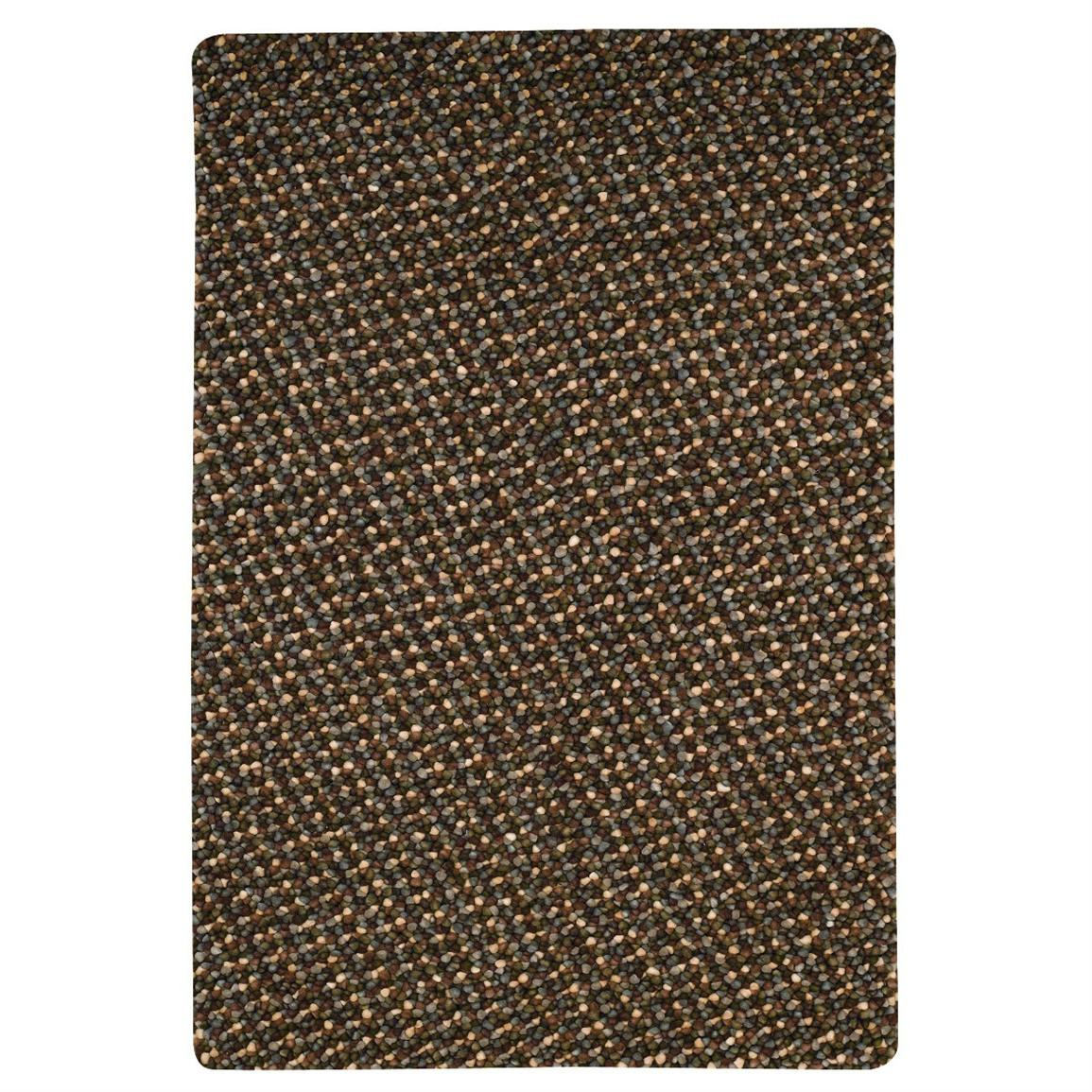 Capel Pebbles Pewter Rug