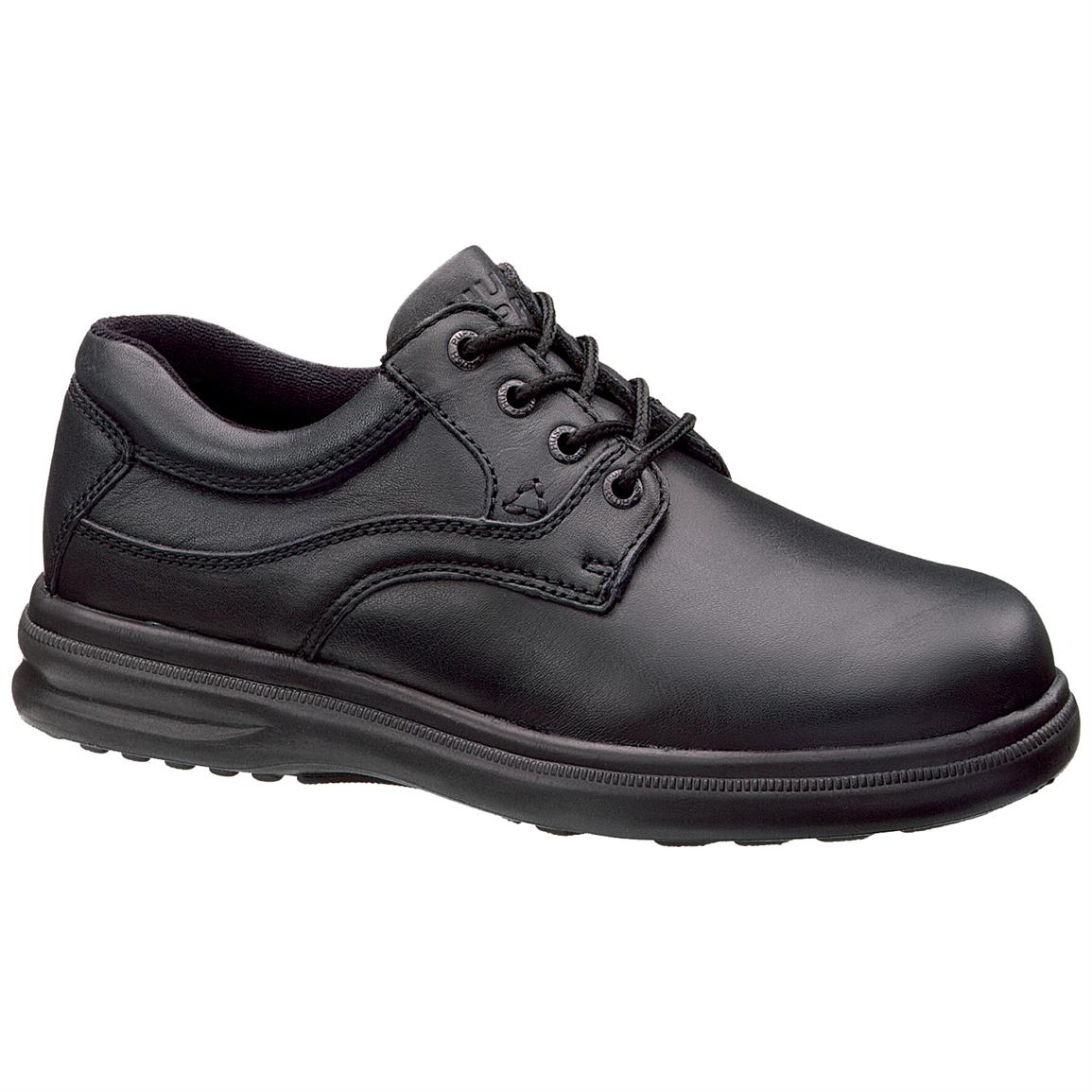 Men's Hush Puppies® Glen Shoes. Black
