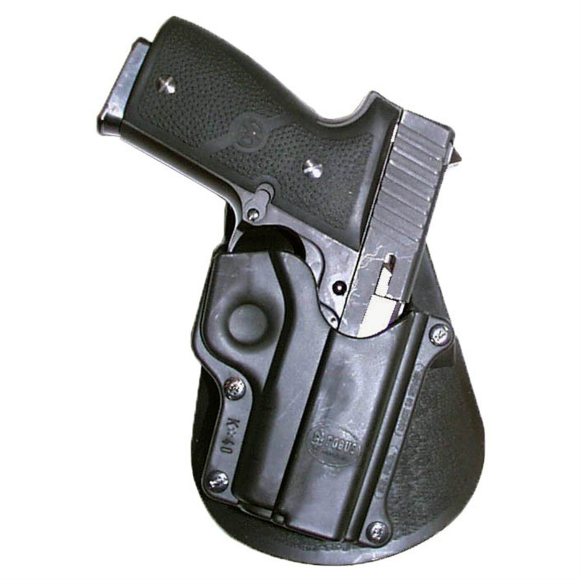 Fobus Kahr K40 Metal/PM9/KO/T40/MK40  Holster with Double Mag Pouch