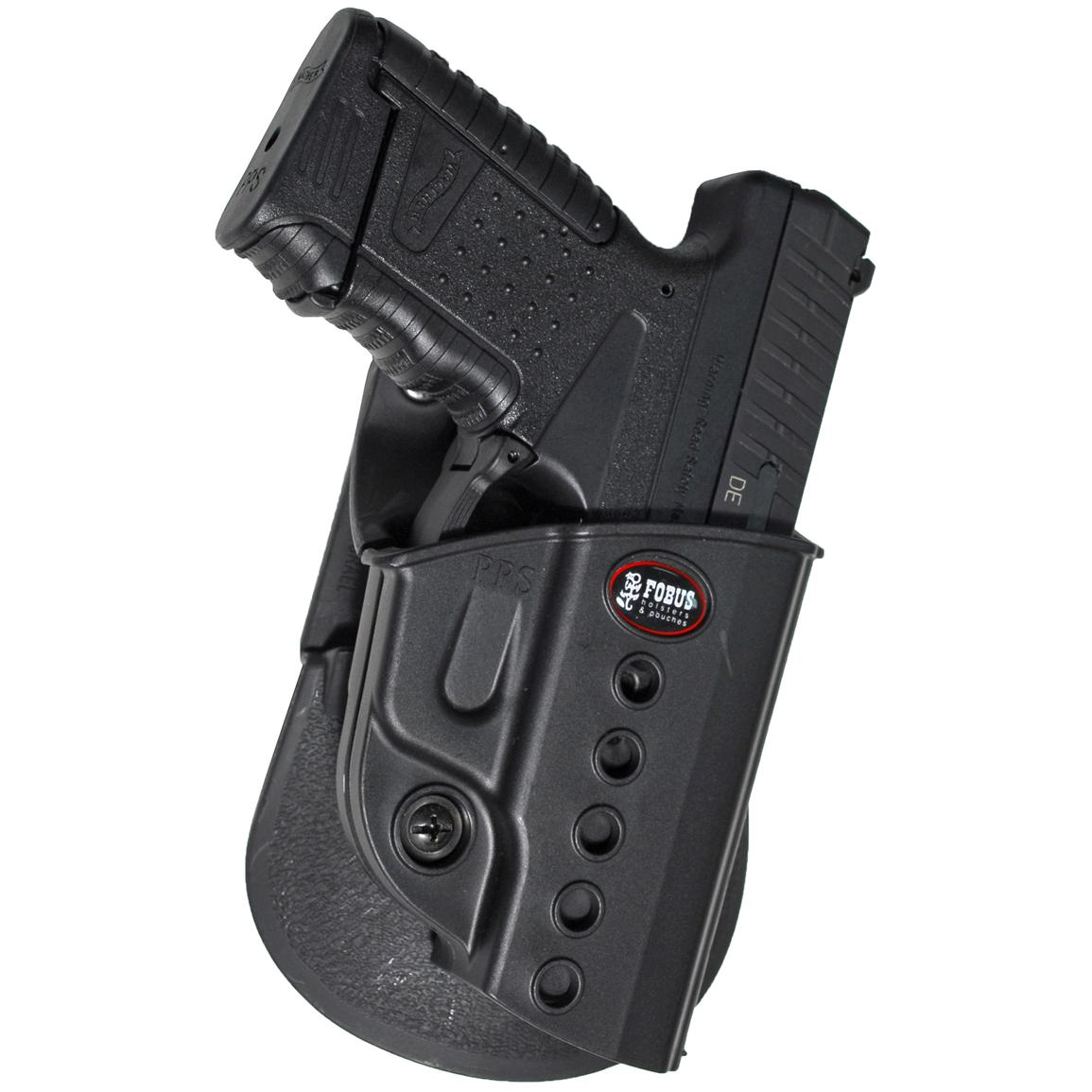 Fobus Walther PPS Holster with Double Mag Pouch