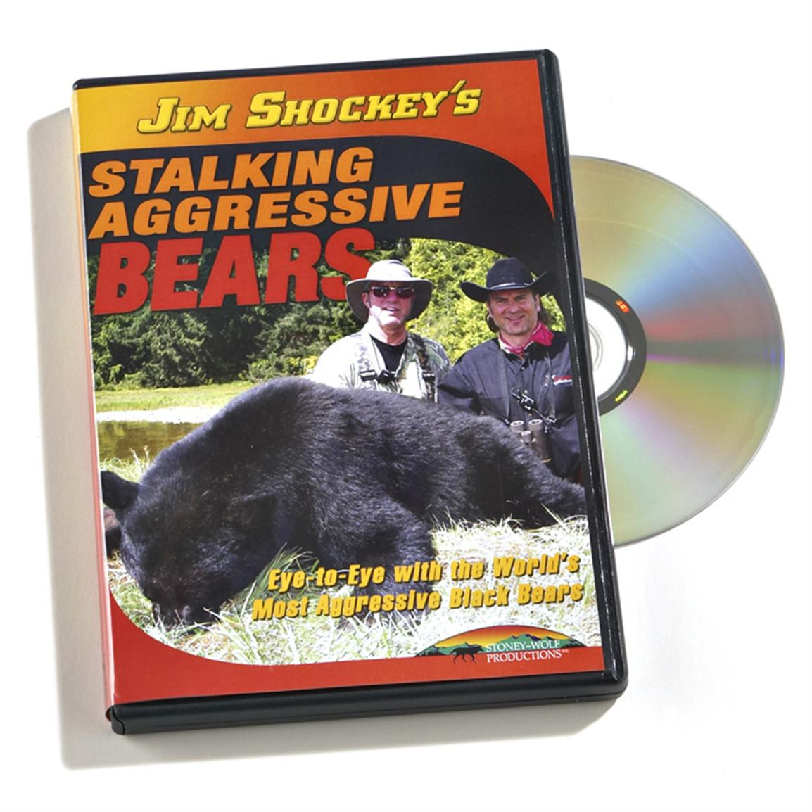 Stoney-Wolf Productions, Inc. Jim Shockey's Stalking Aggressive Bears DVD