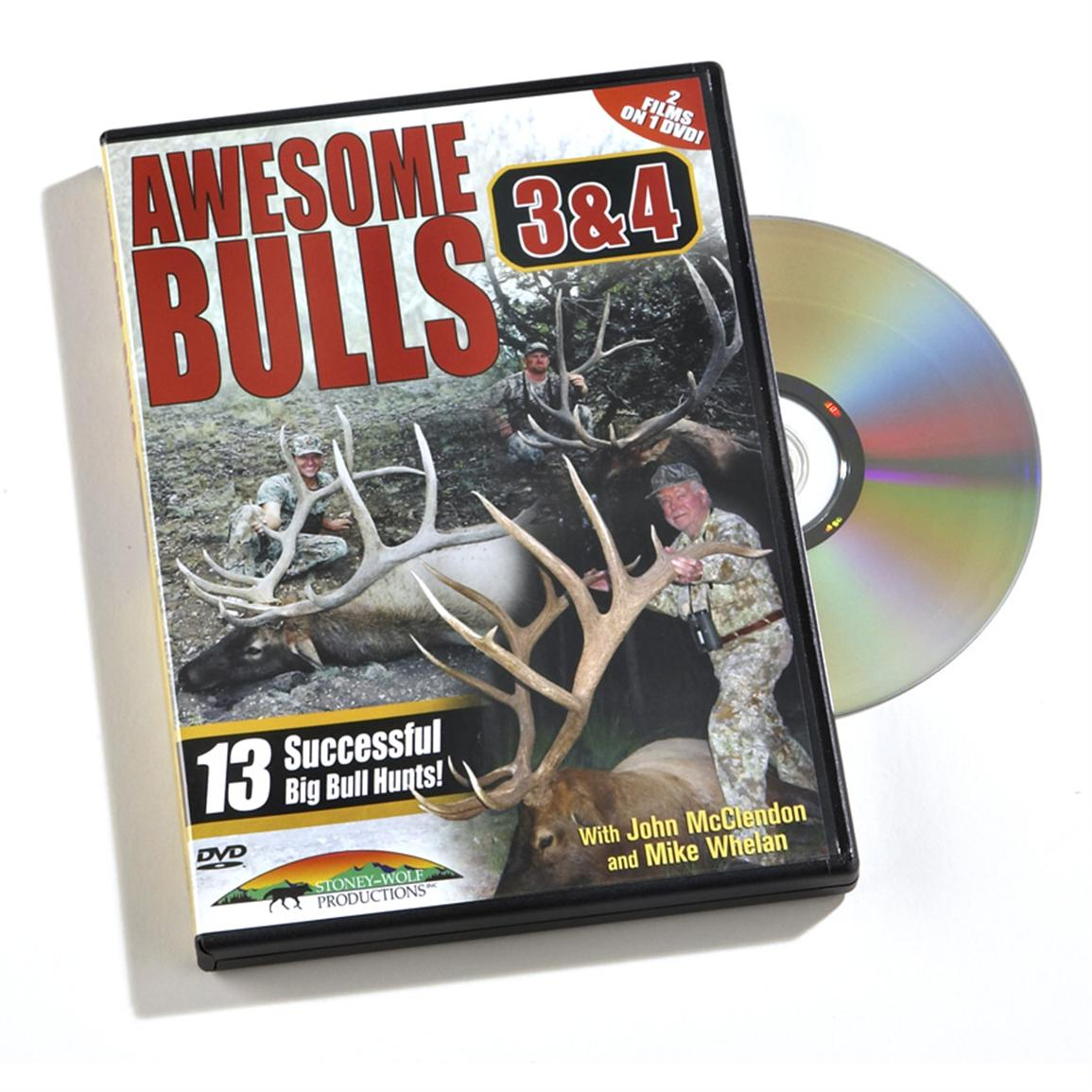 Stoney-Wolf Productions, Inc. Awesome Bulls 3 & 4 DVD
