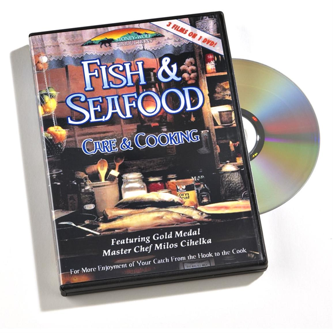 Stoney-Wolf Productions, Inc. Fish & Seafood Care and Cooking DVD