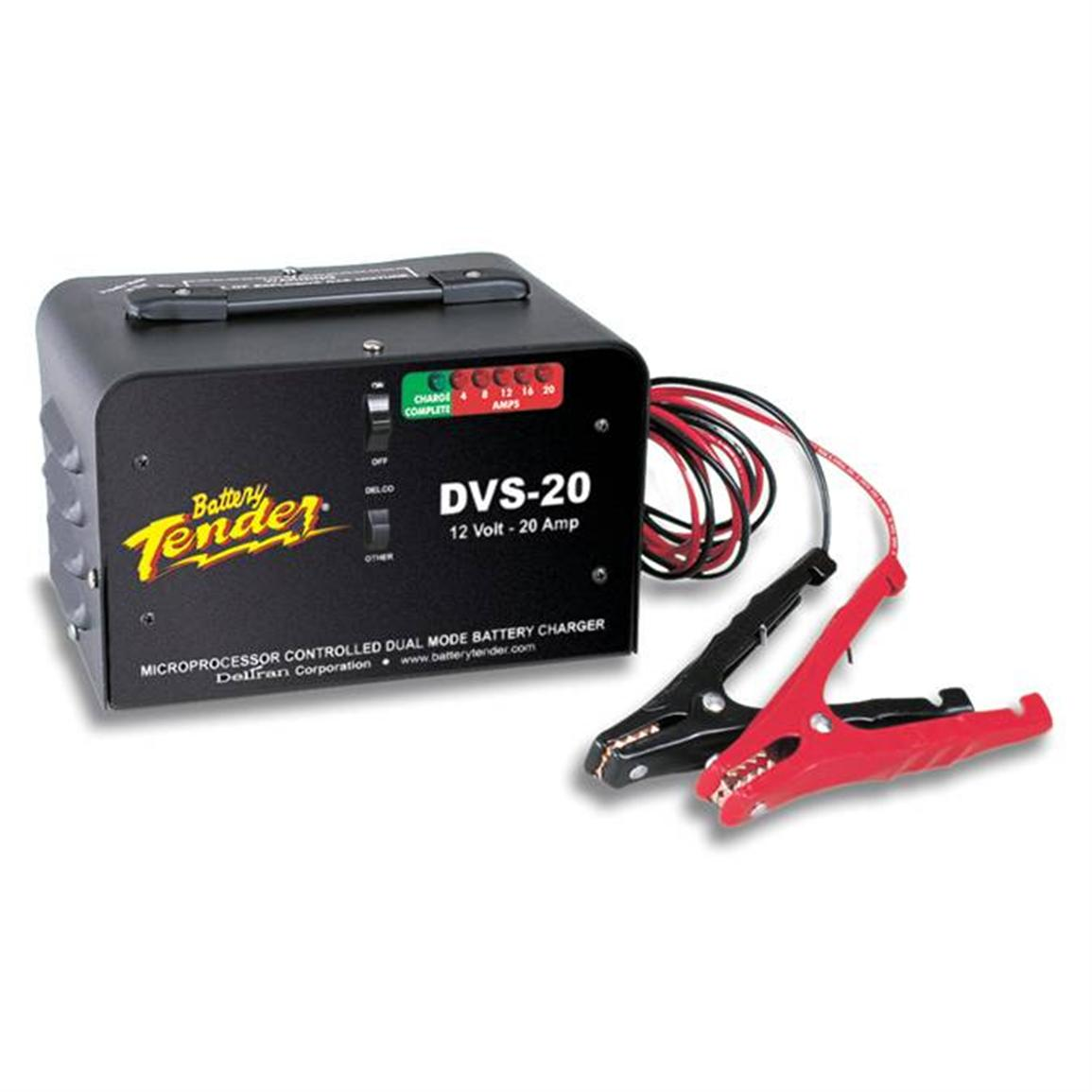 Battery Tender® DVS-20 Heavy-Duty Fast Chargers, Standard & Delco
