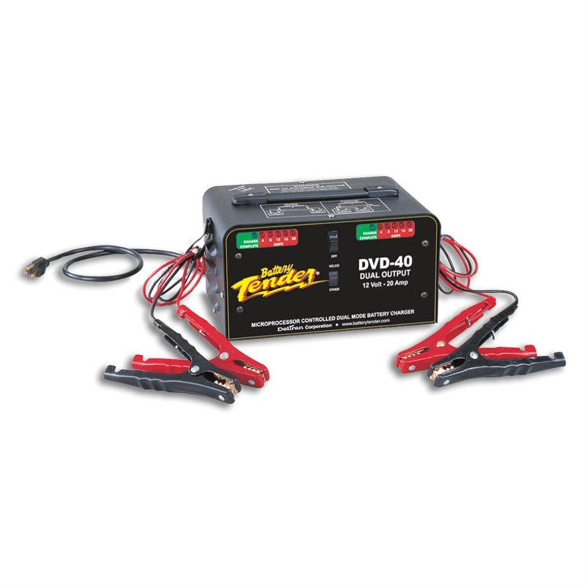 Battery Tender® DVS-40 Heavy-Duty Fast Chargers, Dual Standard & Delco
