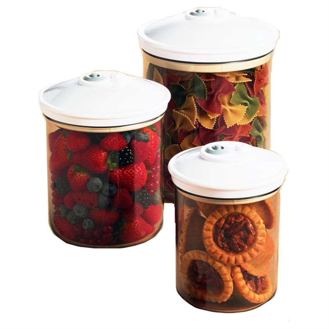 3-Pc. FoodSaver Canisters