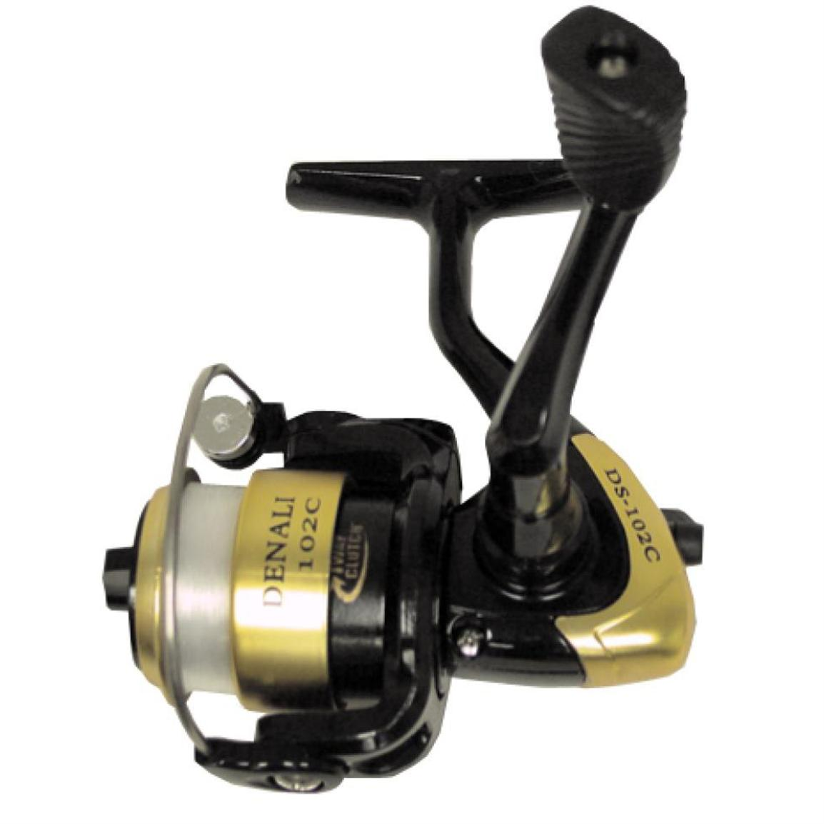 Hi tech denali spinning reel 154647 ice fishing rods for Best ice fishing reel