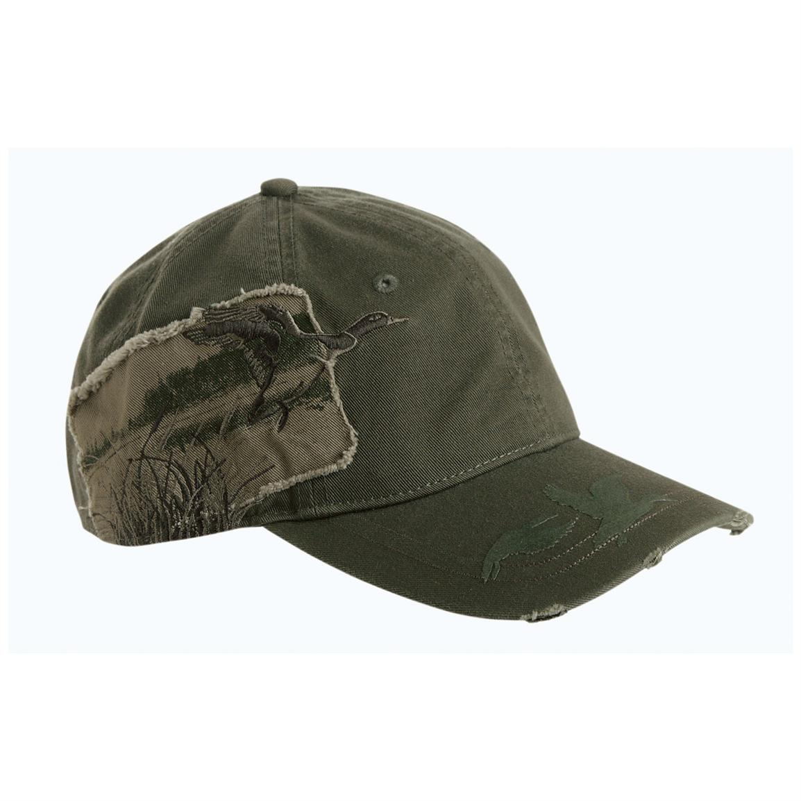 DRI DUCK Appliqué Mallard Wildlife Cap