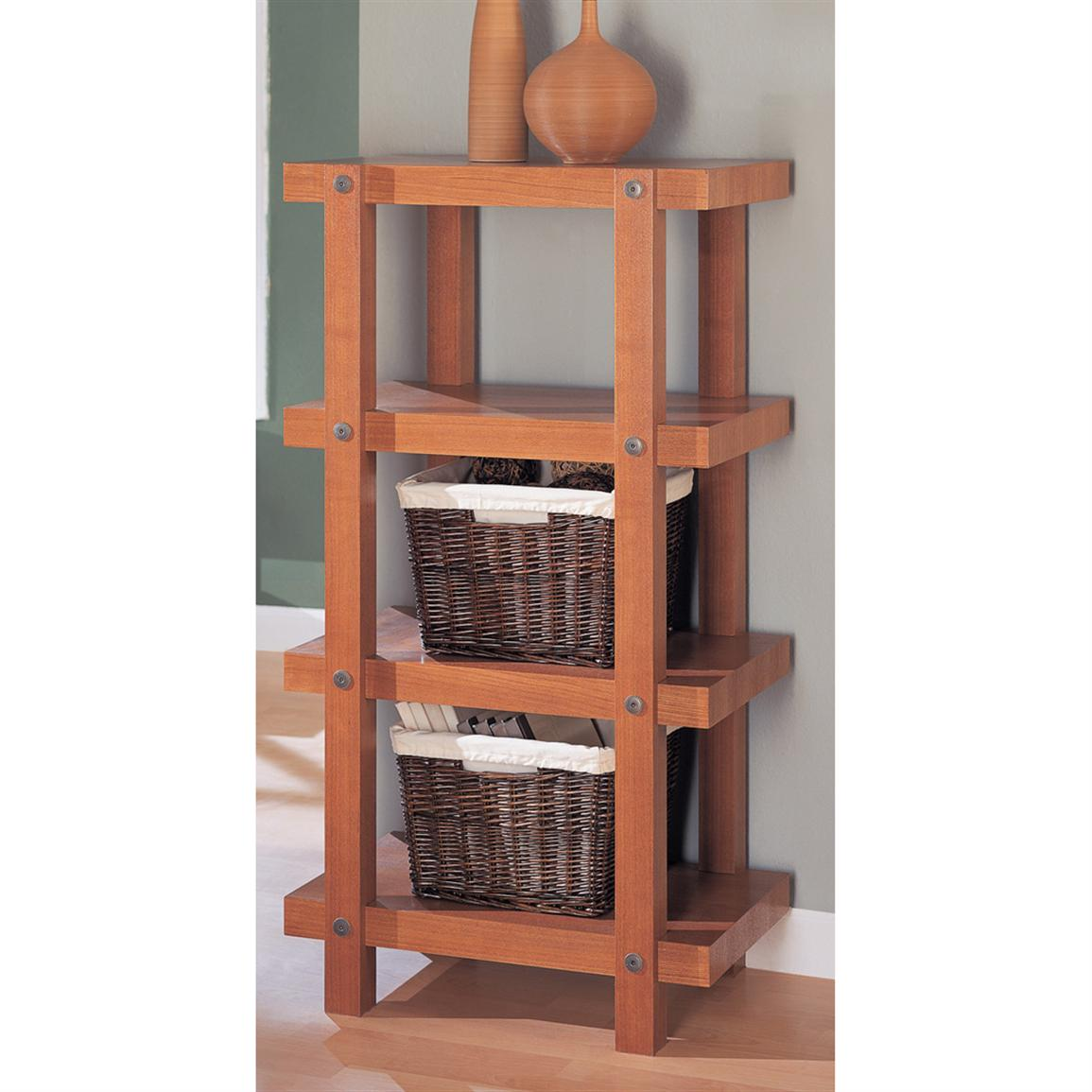 Organize It All Robust 4-Tier Shelf