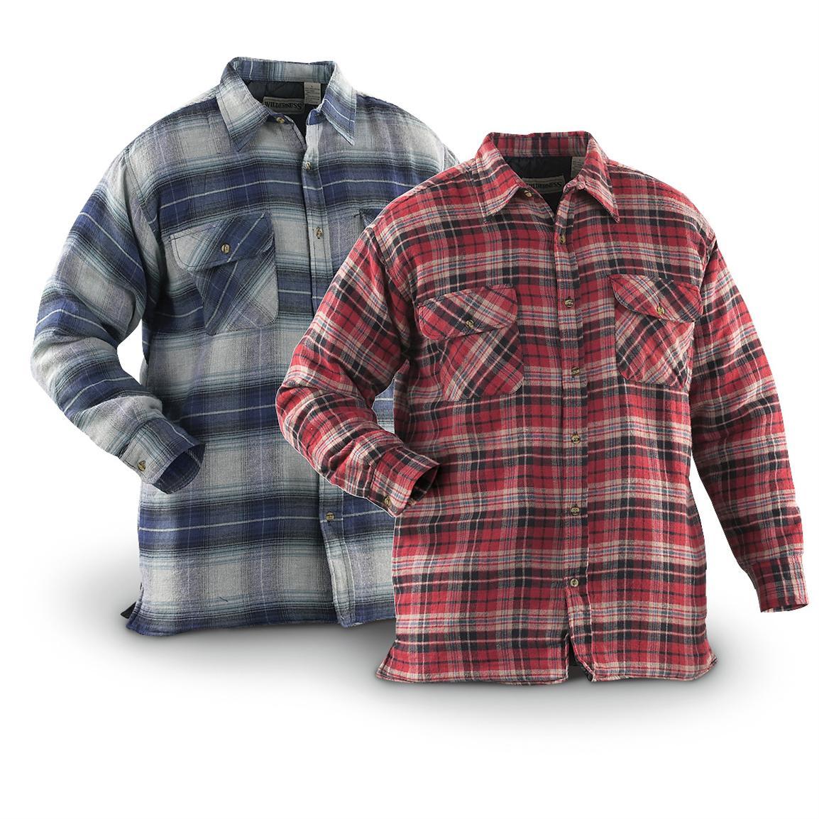 Flannel lined nylon jacket lesbian couples with man for Men flannel shirt jacket with quilted lining